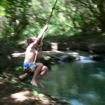 Indiana Jones Rope Swing