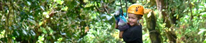 Zip Lining, Monte Verde, Costa Rica