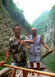 Boatmen - Yangtze River