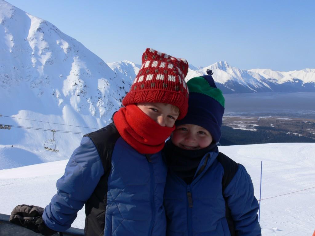 Nathan and Seamus, Cook Inlet, Alaska