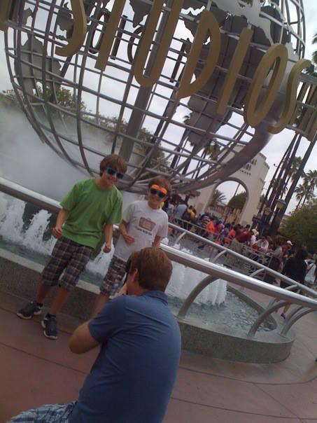 Universal Studios Hollywood, Globe Fountain