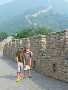 n and s great wall