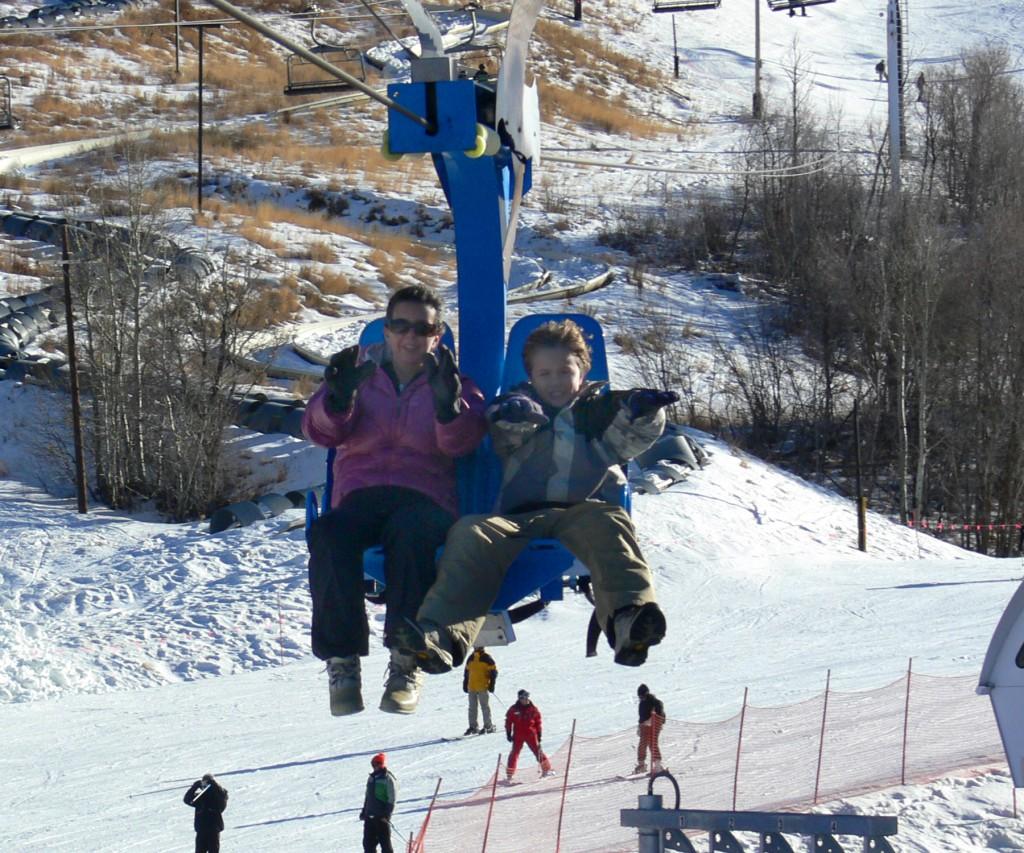 Zip line, Park City Ski Resort, Utah