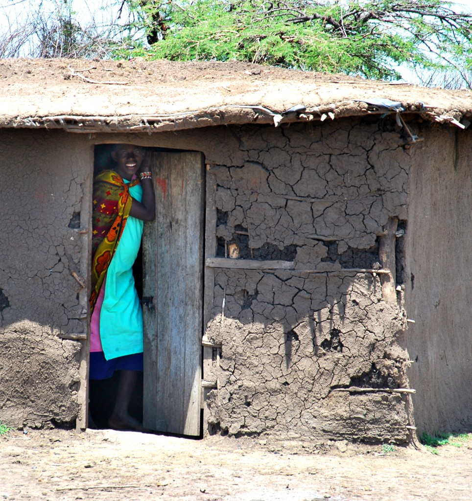 maasai in doorway 2