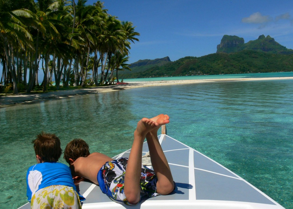 nathan and seamus simmons, bora bora