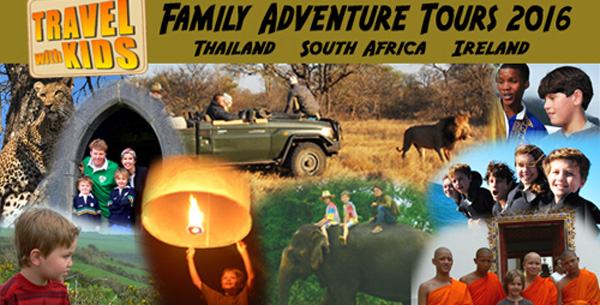 Announcing: 2016 Travel With Kids Family Adventure Tour Destinations
