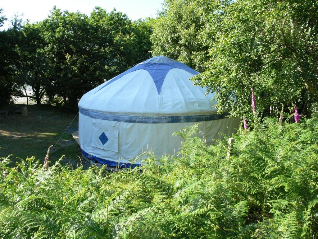Yurt, Graig Wen, Wales
