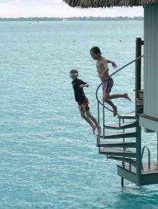 Le Meridien Bora Bora, overwater bungalow