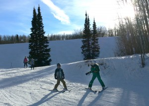learning to ski - deer valley