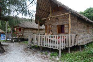 Bungalows, Monkey Island, Koh Rong, Cambodia