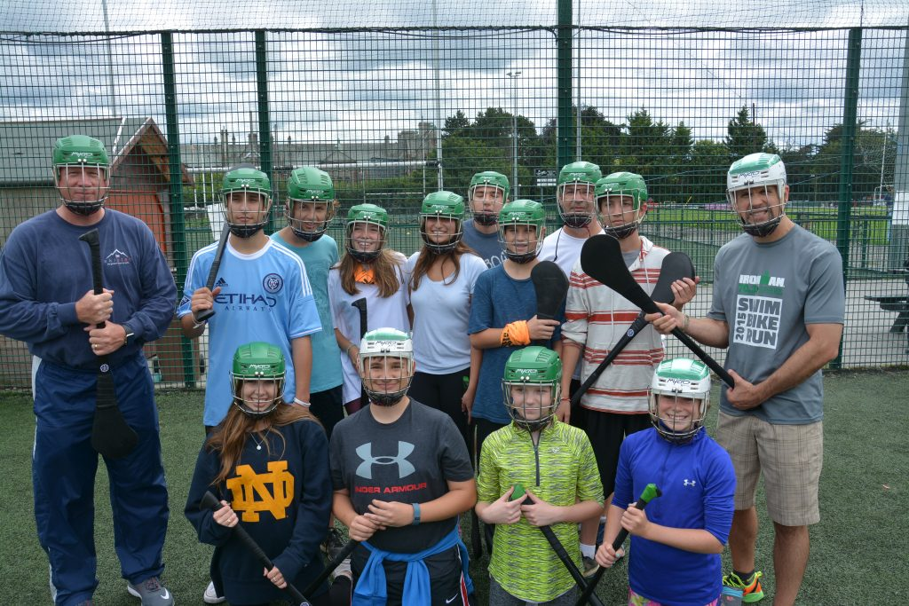 Travel With Kids Irish Hurling Team, Dublin Ireland