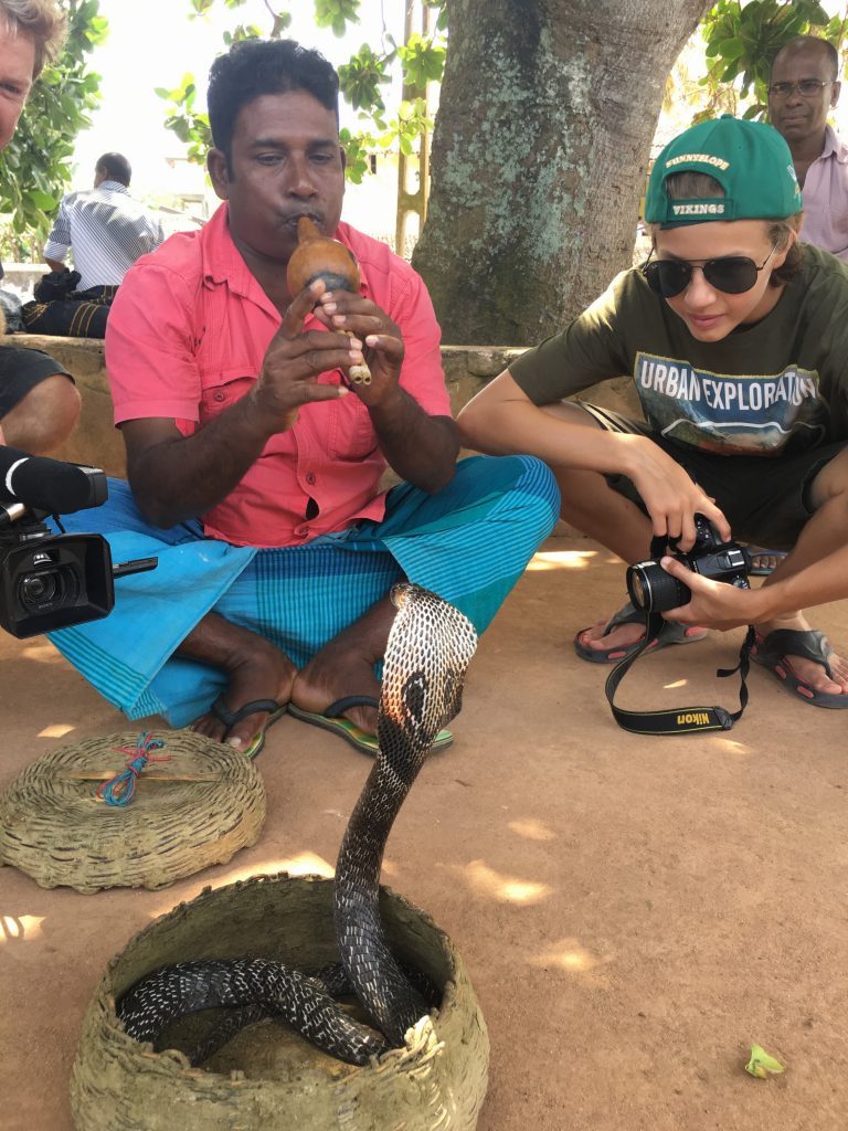 Snake Charmer, Galle, Sri Lanka