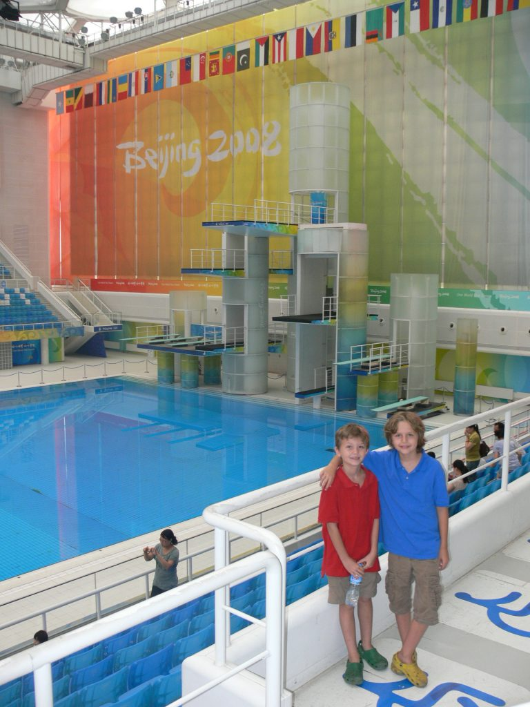 Water Cube, Beijing Olympics, China