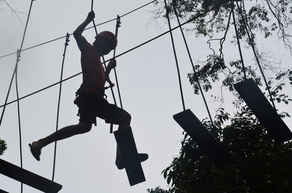 High Point Rope Park, Ko Rong, Cambodia