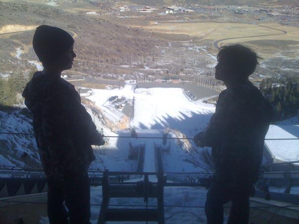 Ski Jump, Olympic Park, Park City, Utah