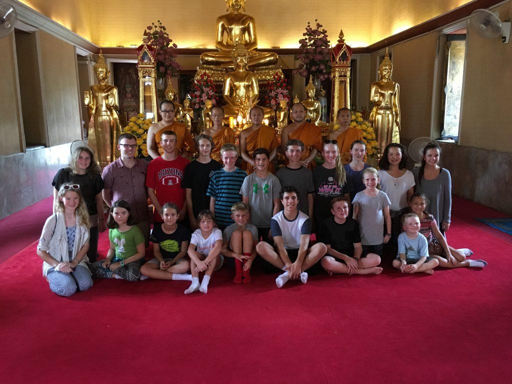 local temple, Bangkok, Thailand
