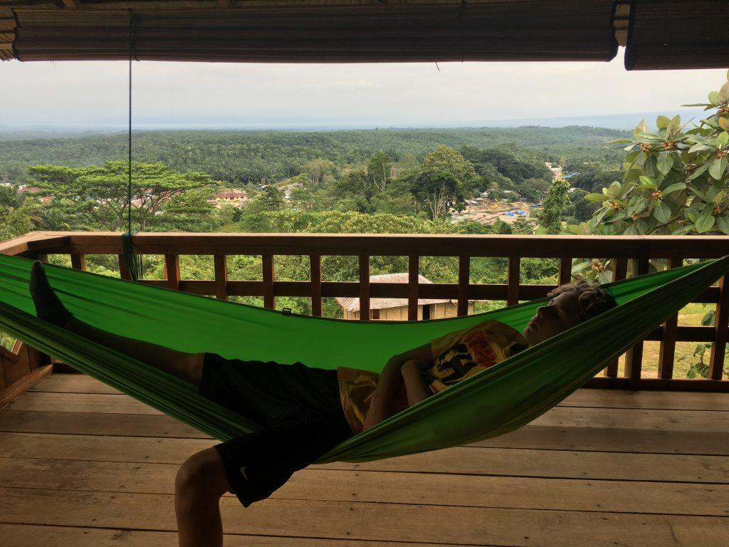 Balcony, Bukit Lawang Hill Resort, Sumatra
