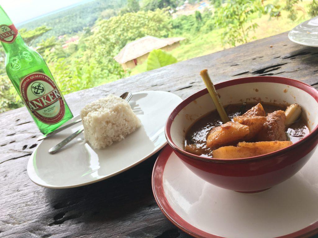 Lunch, Bukit Lawang Eco Lodge
